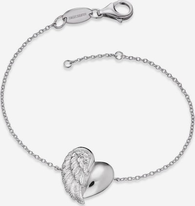 Engelsrufer Armband 'Herzflügel, ERB-Lilheartwing' in silber, Produktansicht