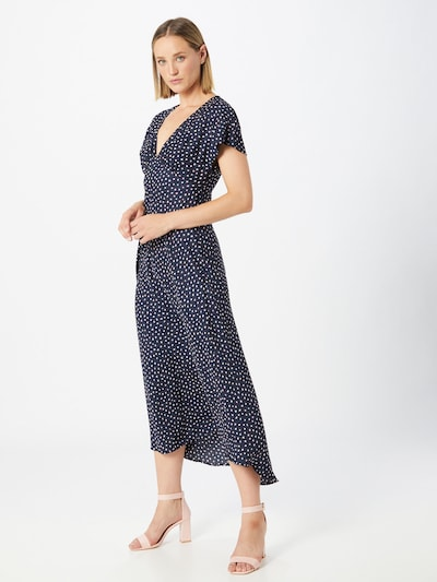 Pepe Jeans Kleid 'Sara' in dunkelblau / pink / weiß, Modelansicht