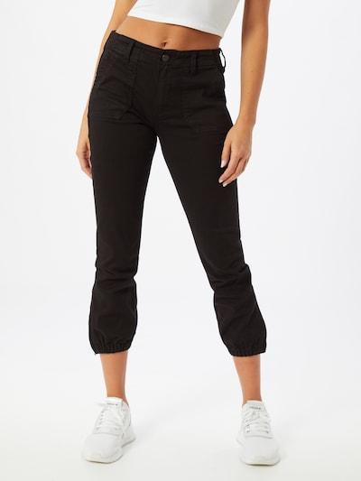 PAIGE Spodnie 'Mayslie' w kolorze czarnym: Widok z przodu