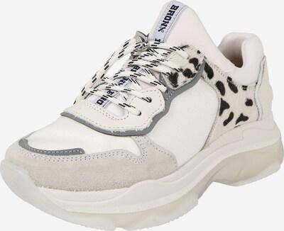 BRONX Sneaker Low in beige / schwarz, Produktansicht