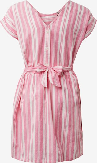 TOM TAILOR Kleid in pink / weiß, Produktansicht