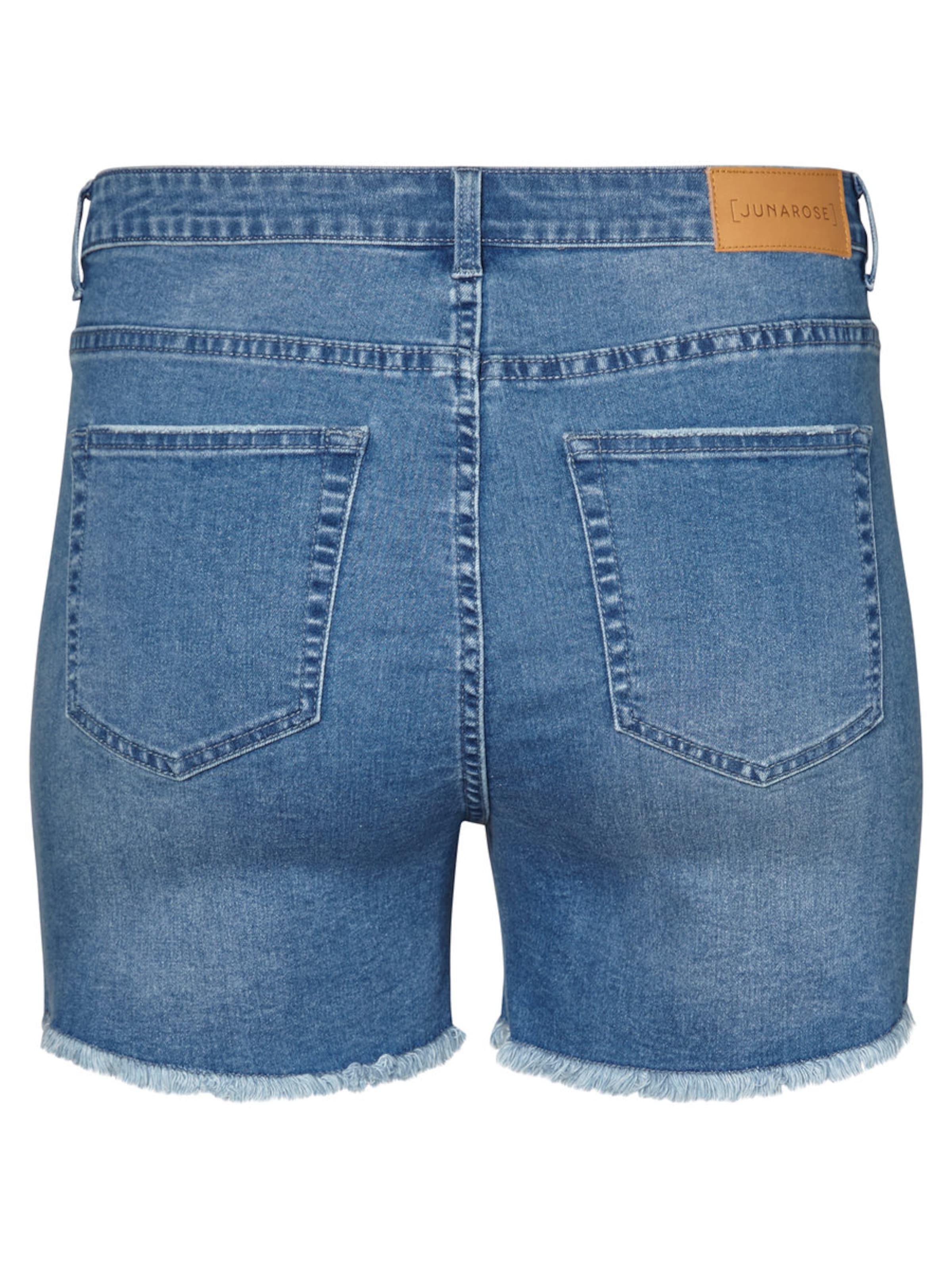Junarose High Waist Denim Shorts Billig Mit Master Freies Verschiffen Outlet-Store J8qTHaUDZ