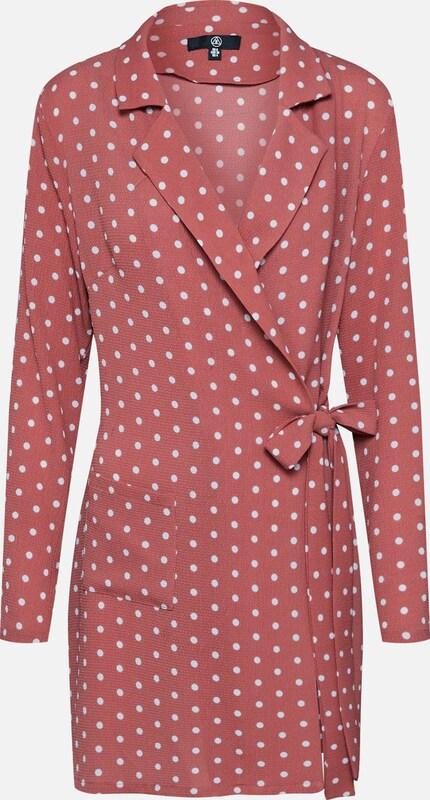 Polkadot Belted' En Missguided 'pink Rose Robe 2EWD9YHI