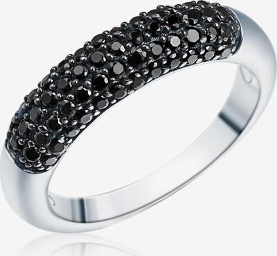 Rafaela Donata Ring in schwarz / silber, Produktansicht