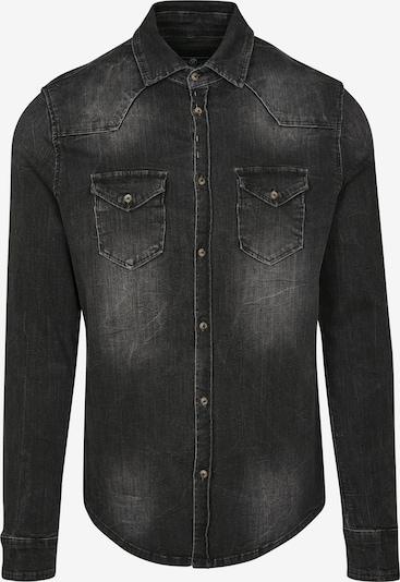 Brandit Camisa 'Riley' en negro denim, Vista del producto