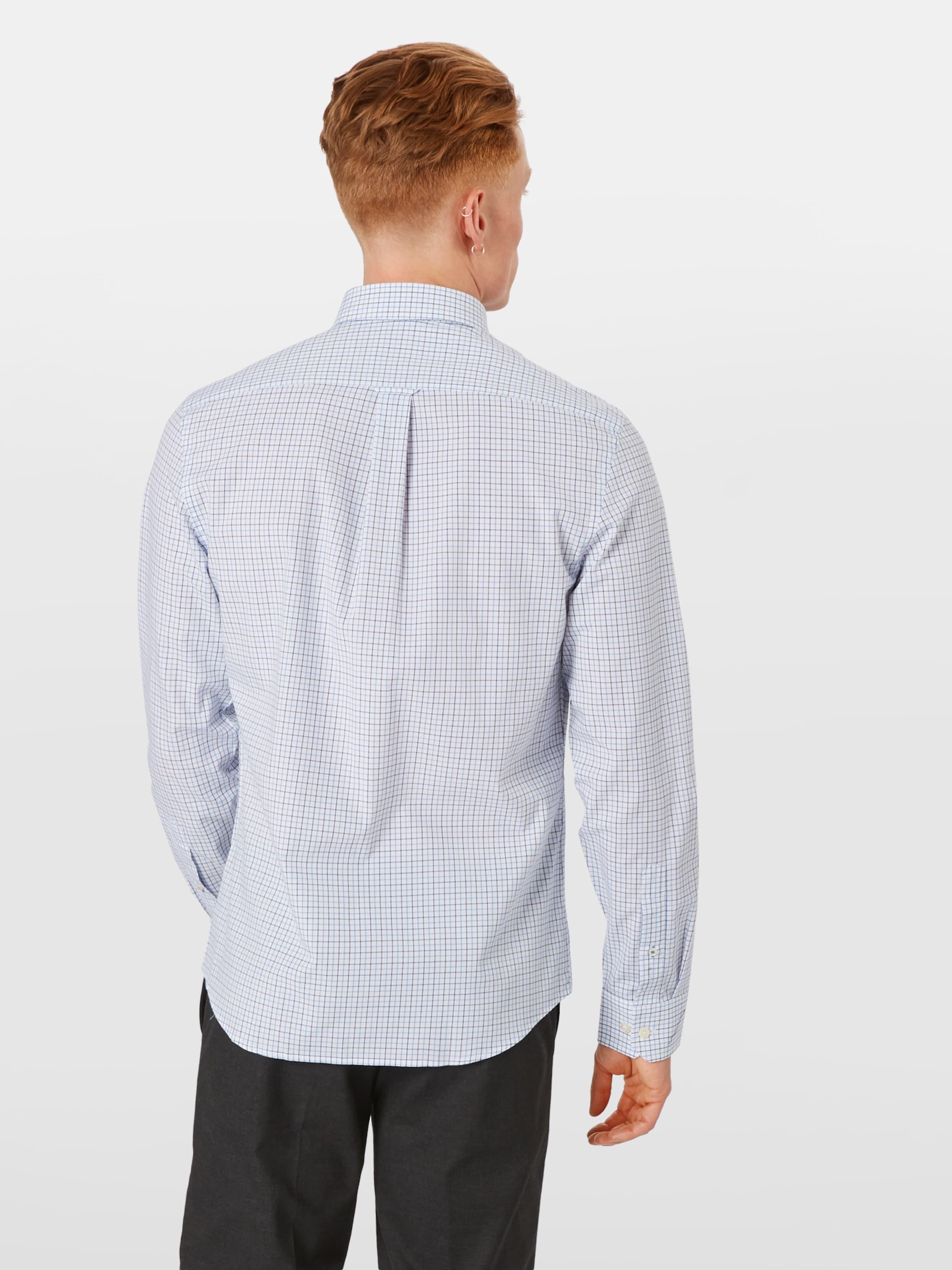 BlauWeiß 'poplin' Izod Hemd 'poplin' In Hemd In Izod oeBdrxC