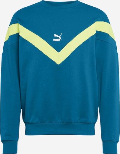 PUMA Sweatshirt 'Iconic MCS' in blau / petrol, Produktansicht