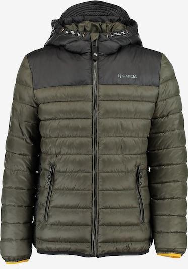 GARCIA Winterjacke in grün / schwarz, Produktansicht