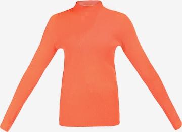 myMo ATHLSR Athletic Sweater in Orange