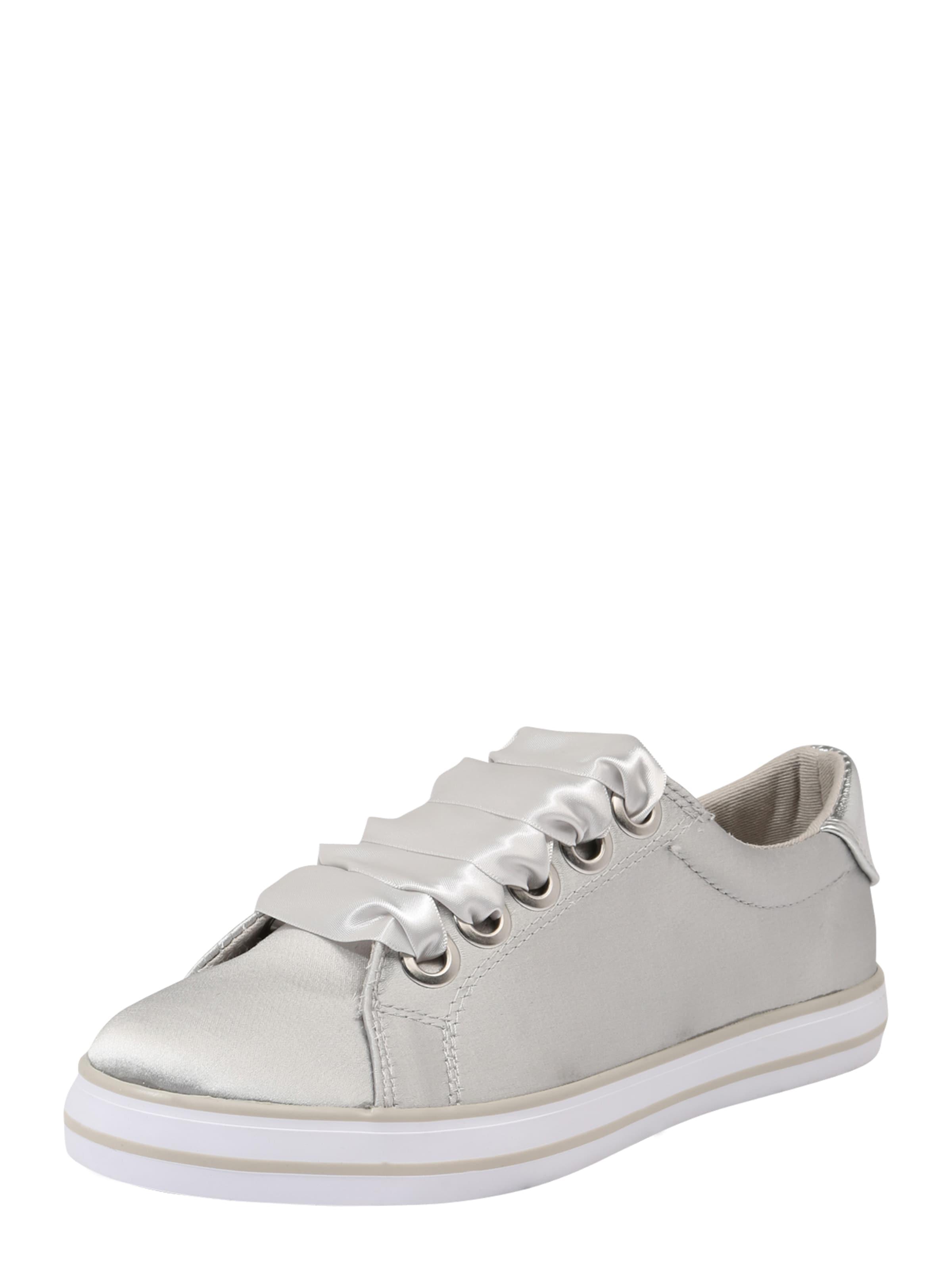 MARCO TOZZI Textil-Sneaker mit breiten Schnürsenkeln
