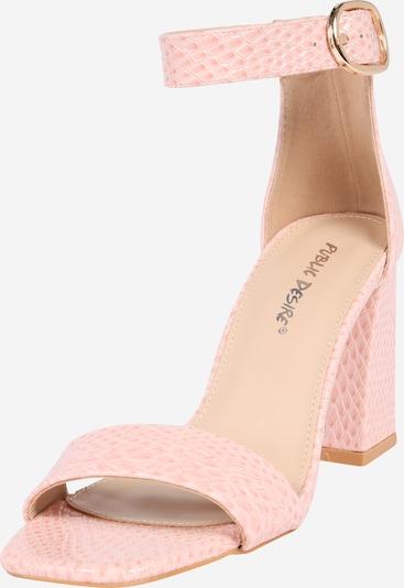 Public Desire Sandales 'KARA' en rose, Vue avec produit