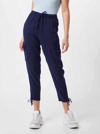ONLY Cargo Hose in blau, Modelansicht