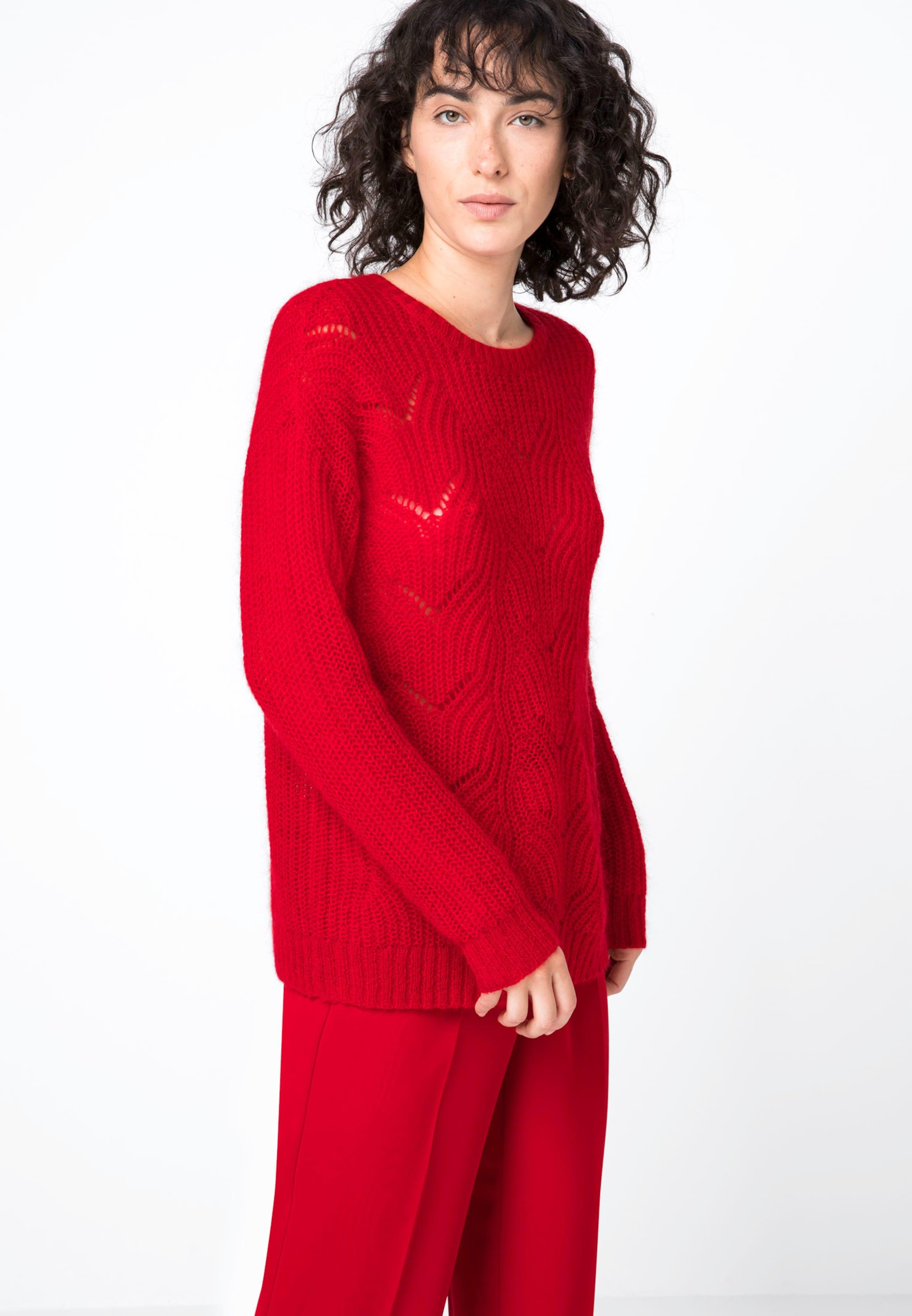Pullover Hallhuber In Hallhuber Pullover Rot xBeCrdo