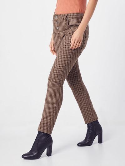 PLEASE Hose in beige / braun, Modelansicht