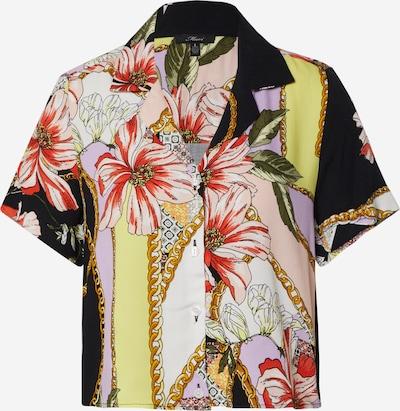 Mavi Hemd in mischfarben / schwarz / weiß, Produktansicht
