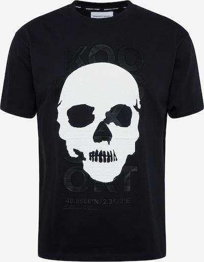 THE KOOPLES SPORT T-Shirt in schwarz / weiß, Produktansicht