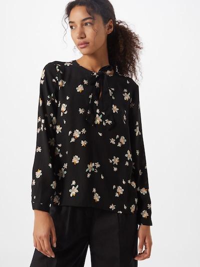 ABOUT YOU Bluse 'Elina' in mischfarben / schwarz, Modelansicht
