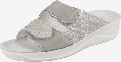 BECK Pantolette 'Lisbeth' in grau / silber, Produktansicht