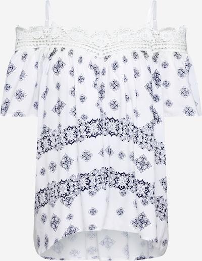 LTB Koszulka 'NOYAJE' w kolorze granatowy / białym, Podgląd produktu
