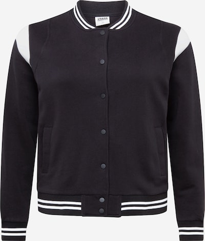 Urban Classics Between-Season Jacket in Black / White, Item view