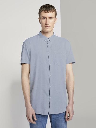 TOM TAILOR DENIM Hemd in grau, Produktansicht