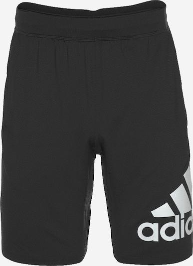 ADIDAS PERFORMANCE Sportske hlače '4K_Sportlevel A BOS 9' u crna / bijela, Pregled proizvoda