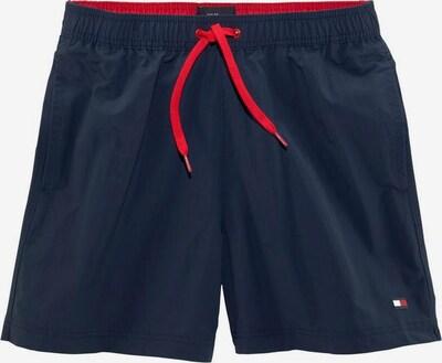 Tommy Hilfiger Underwear Zwemshorts in de kleur Marine / Lichtrood, Productweergave