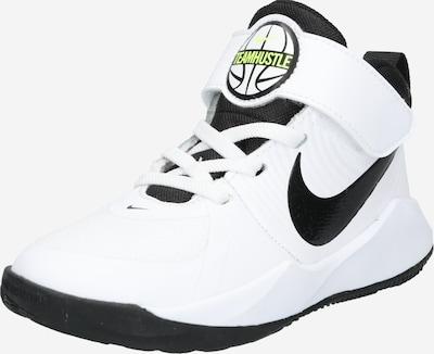 NIKE Sports shoe 'TEAM HUSTLE D 9 (PS)' in Black / White, Item view