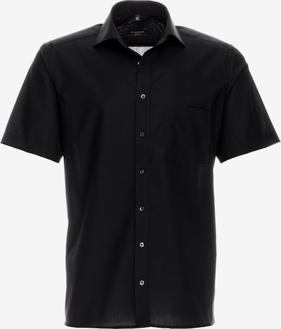ETERNA Kurzarm Hemd in schwarz, Produktansicht