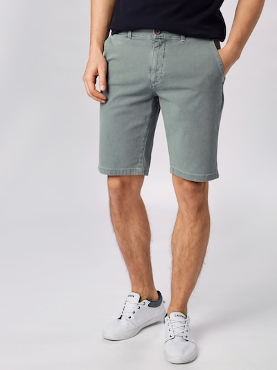 HKT by HACKETT Shorts in grün: Frontalansicht