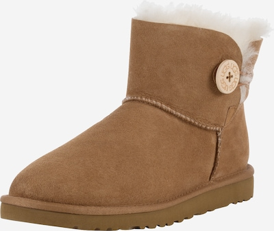 UGG Boots 'Mini Bailey Button' in cognac: Frontalansicht
