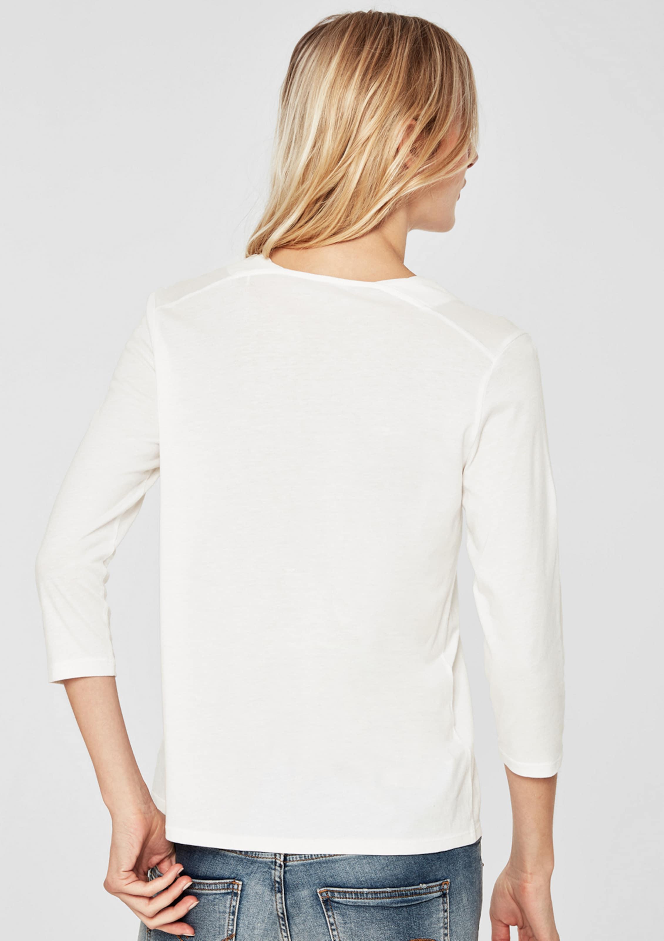 In Shirt S Red Weiß oliver Label TFl1cKJ