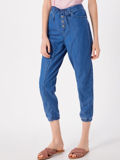 EDC BY ESPRIT Jeans 'MR BF Jogger' in blue denim, Modelansicht