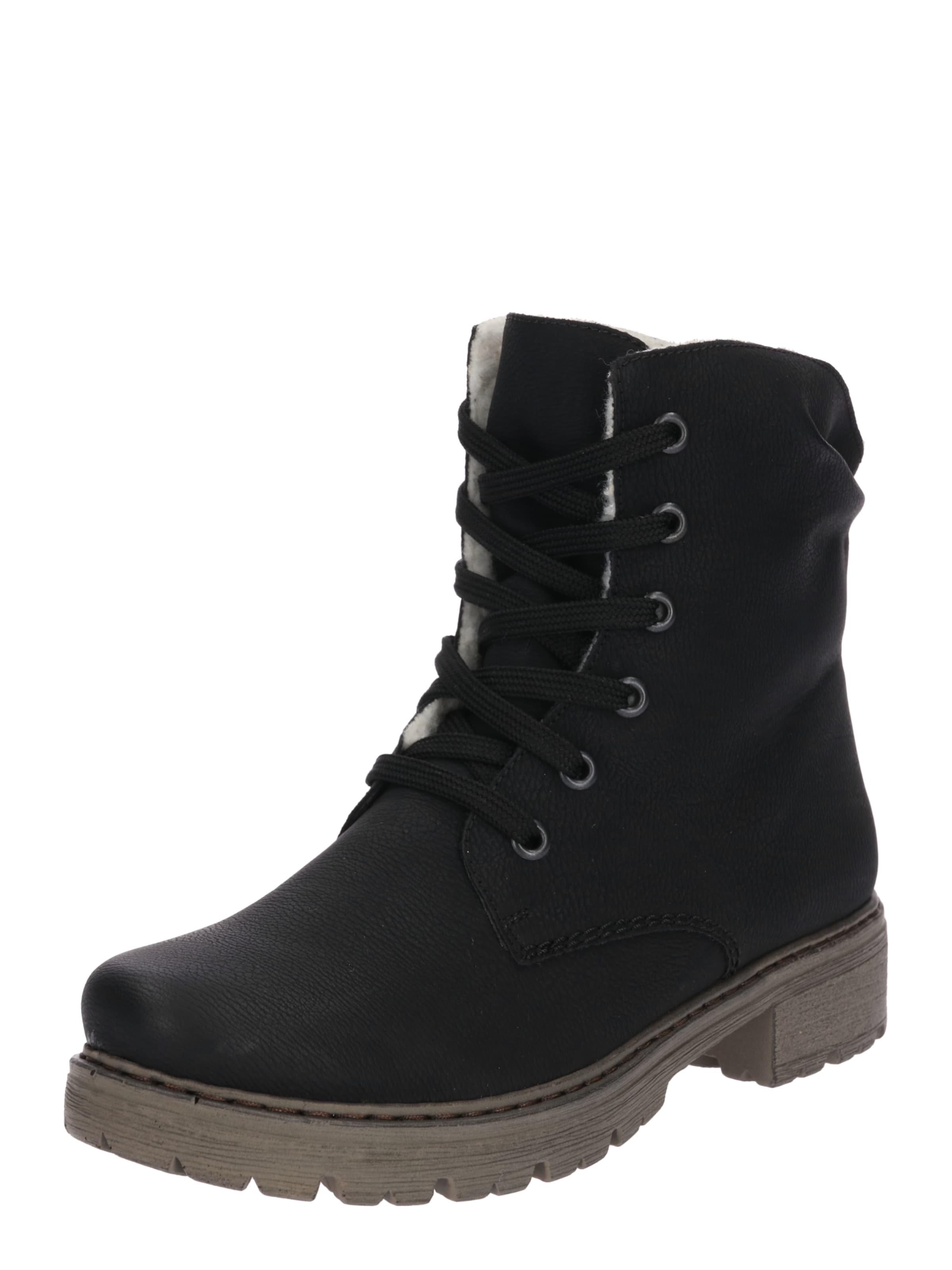 RIEKER Schnürstiefelette Verschleißfeste billige Schuhe Hohe Qualität