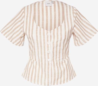 ICHI Bluse 'IHGRY SS2' in beige / weiß, Produktansicht