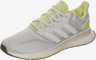 Sneaker de alergat 'Runfalcon' ADIDAS PERFORMANCE pe gri / limetă, Vizualizare produs