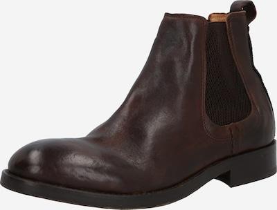 Hudson London Chelsea boots 'Wistman' in de kleur Kastanjebruin, Productweergave