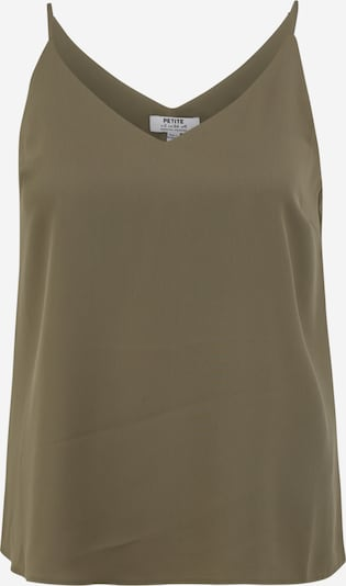Dorothy Perkins (Petite) Top 'Cami' in khaki, Produktansicht