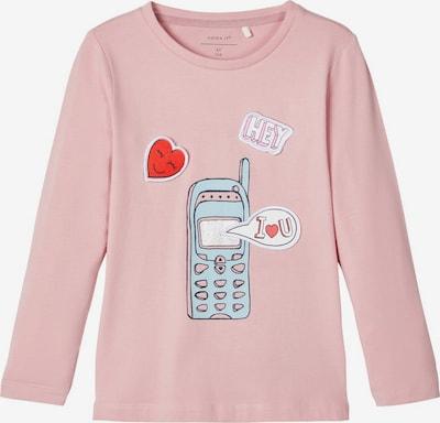 NAME IT Longsleeve in mischfarben / rosa, Produktansicht