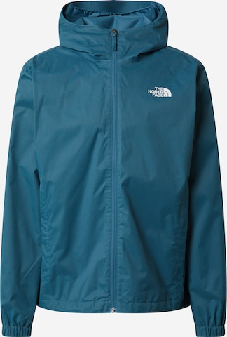 THE NORTH FACE Funktionsjacke 'Quest' in Grün