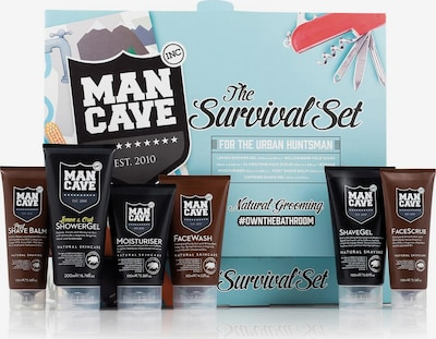 ManCave 'The Survival Set' Gesichtspflegeset in braun, Produktansicht