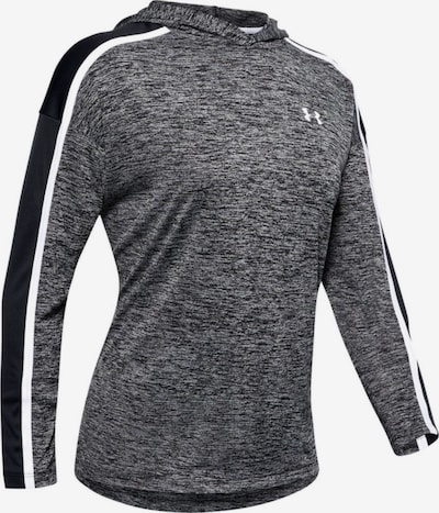 UNDER ARMOUR Sportshirt 'Tech Twist' in graumeliert / schwarz, Produktansicht