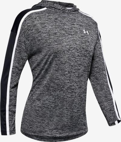 UNDER ARMOUR Sportshirt 'Tech Twist' in graumeliert / schwarz, Produktansicht
