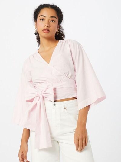 Envii Bluse in pastellpink, Modelansicht