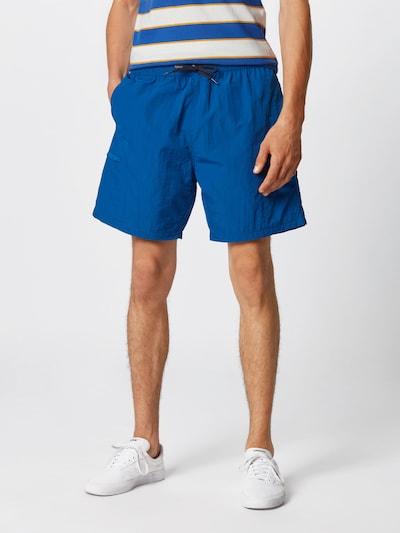 LEVI'S Shorts 'LINEDWALKSHORT' in blue denim: Frontalansicht