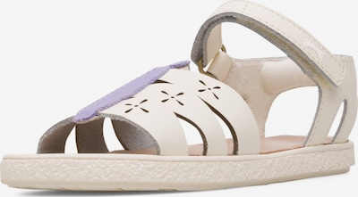 CAMPER Sandale 'Twins' in beige, Produktansicht