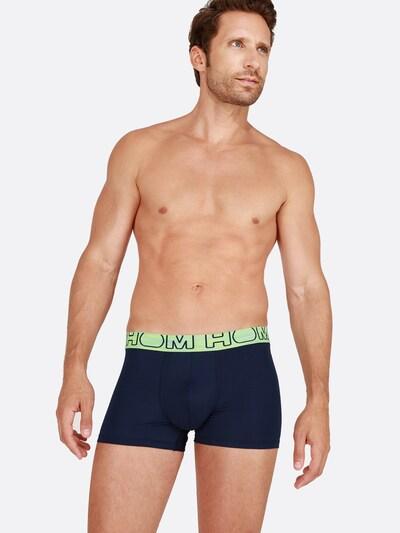 HOM Boxer Briefs ' New Ocean ' in blau, Modelansicht