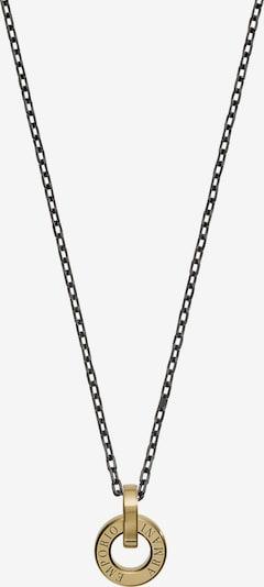 Emporio Armani Kette in gold / schwarz, Produktansicht
