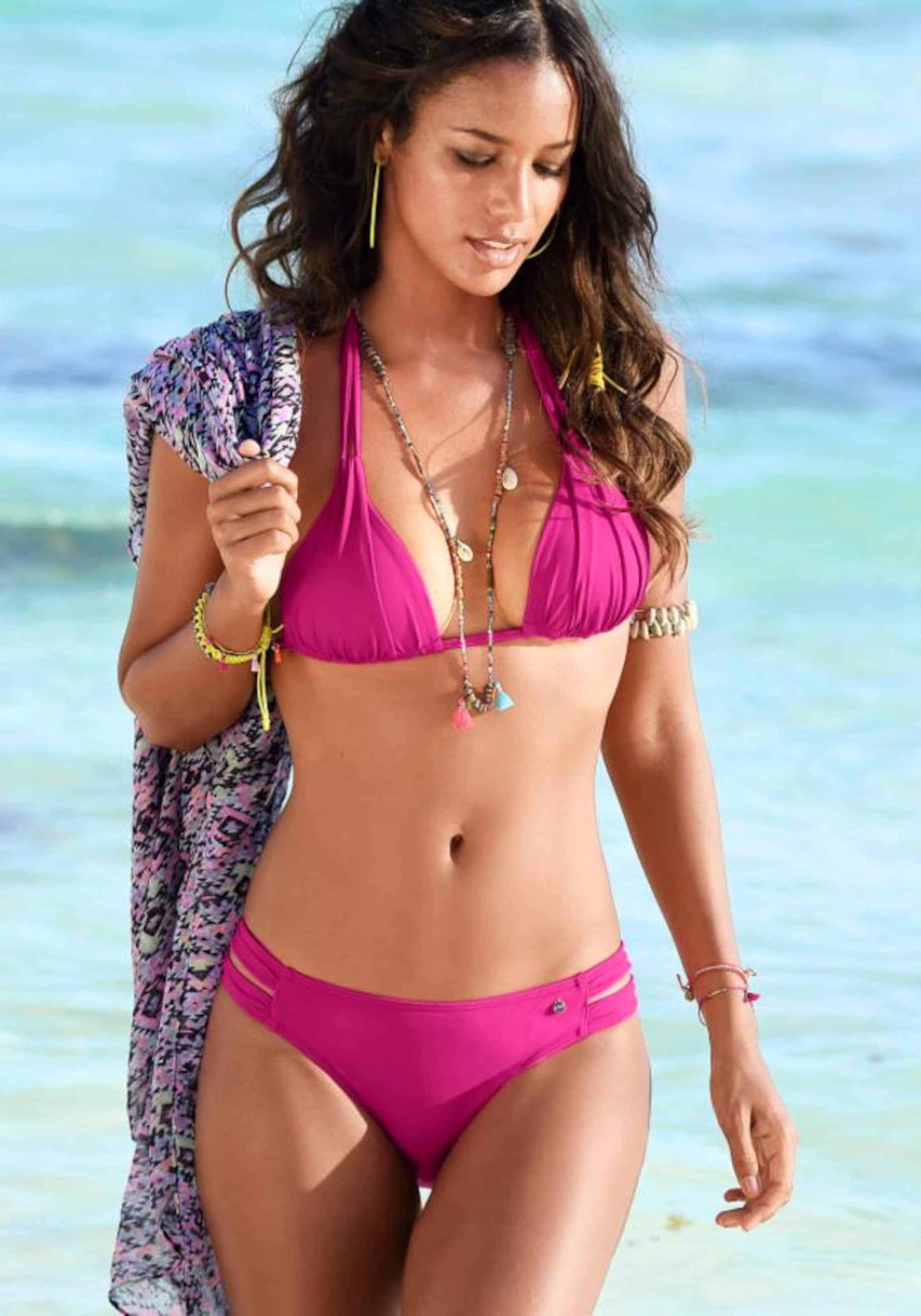Beachwear S Label 'spain' Pink oliver Bikini Red hose In tQdrCshx