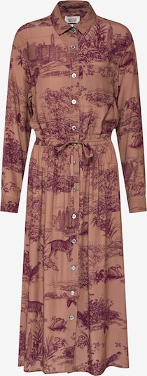 PAUL & JOE SISTER Blusenkleid '#10ELYANNE' in braun, Produktansicht